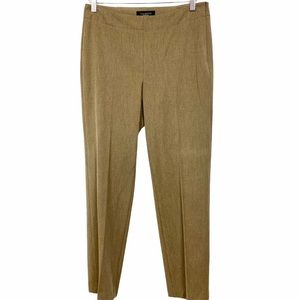 TALBOTS Classic Side Zip Trouser in Light Brown